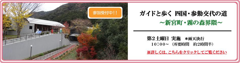 『ガイドと歩く四国・参勤交代の道』参加者募集